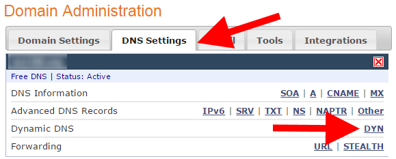 ZoneEdit Free Dynamic DNS and SSL Certificates – Misdirected