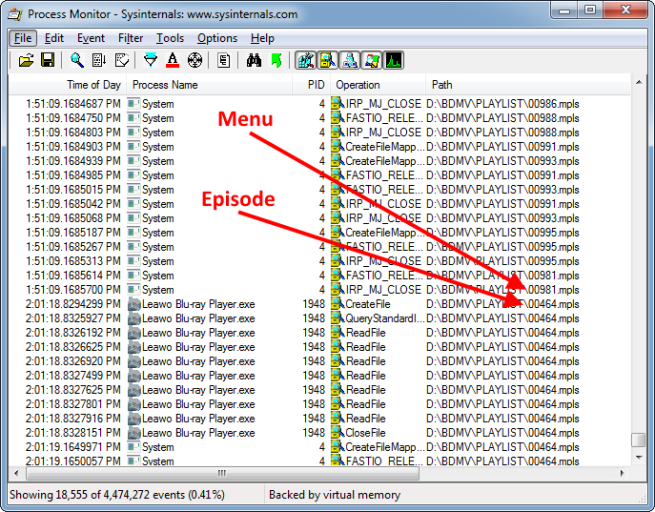 Blu-ray Title Obfuscation – Find the Correct Files